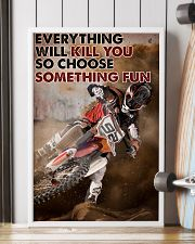 Motocross Choose ST Fun1 24x36 Poster lifestyle-poster-4