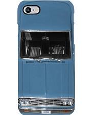 Car Chev 1964 Chevel Silver Blue PDN-dqh Phone Case i-phone-8-case