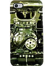 Hot Rod Engine PC Green 4 PDN Phone Case i-phone-8-case