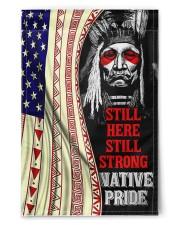 "Native Still Here Still Strong Flg PDN ngt ads 11.5""x17.5"" Garden Flag front"