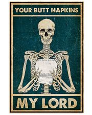 Skull TL Your Butt Napkins My Lord 11x17 Poster front