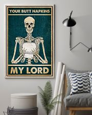 Skull TL Your Butt Napkins My Lord 11x17 Poster lifestyle-poster-1