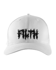 Filth Embroidered Hat front