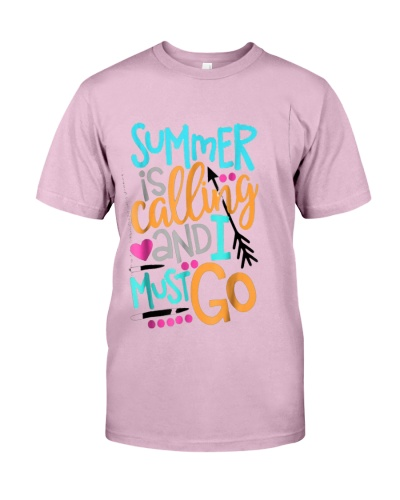 Summer Is Calling And I Must Go Cute