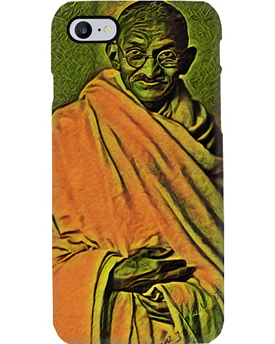 Ghandi Standing Art Illustration Oriental Spice