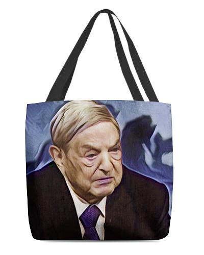 George Soros Artistic Illustration Statue Style
