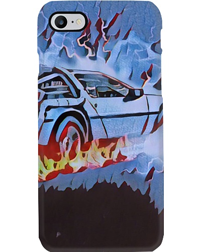 Back to the Future Car time travel Retro