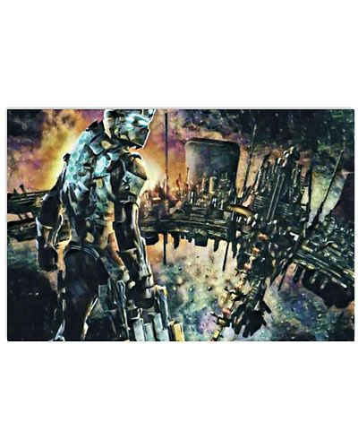 Dead Space Defensive Isaac Art Illustration Space