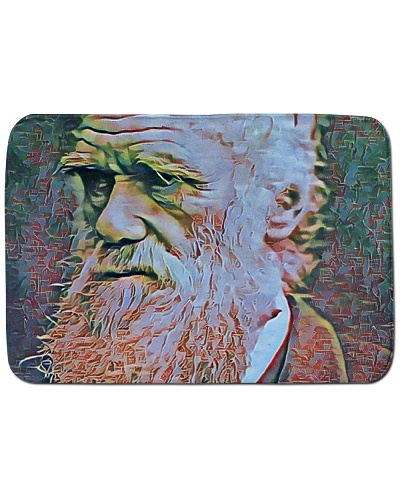 Charles Darwin Portrait Illustration Chapped Paint