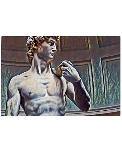 David from Michelangelo Art Illustration Relief
