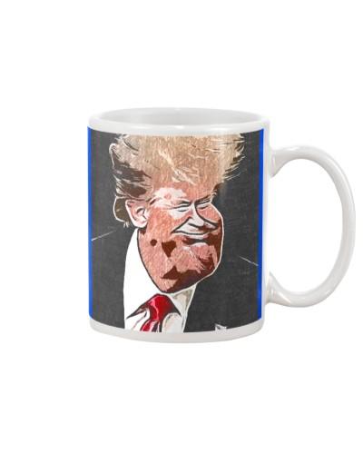 Trump the Head Artistic Caricature Caricature