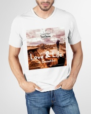 Love and life beautiful V-Neck T-Shirt garment-vneck-tshirt-front-lifestyle-01