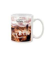 Love and life beautiful Mug thumbnail