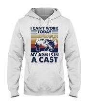 Fishing I cant work today 2 Hooded Sweatshirt tile
