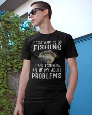 Fishng I JUST WANT TO GO Classic T-Shirt apparel-classic-tshirt-lifestyle-17