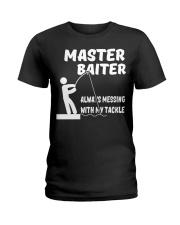Fishing Master Baiter Ladies T-Shirt tile