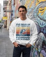 Fishing the drug of my choice 2 Crewneck Sweatshirt lifestyle-unisex-sweatshirt-front-2