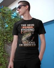 Fishing Is My Choice 2 Classic T-Shirt apparel-classic-tshirt-lifestyle-17