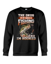 Fishing Is My Choice 2 Crewneck Sweatshirt tile