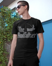 Fishing The Rodfather Funny Parody Classic T-Shirt apparel-classic-tshirt-lifestyle-17