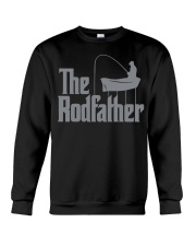 Fishing The Rodfather Funny Parody Crewneck Sweatshirt tile
