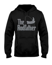 Fishing The Rodfather Funny Parody Hooded Sweatshirt tile