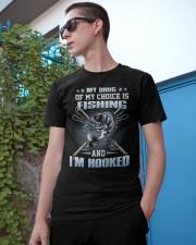 Fishing My Drug Of My Choice Is Fishing Classic T-Shirt apparel-classic-tshirt-lifestyle-17