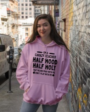 Holy Teacher Hooded Sweatshirt lifestyle-unisex-hoodie-front-1