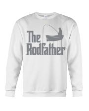 Fishing The Rodfather Crewneck Sweatshirt front