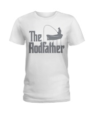 Fishing The Rodfather Ladies T-Shirt tile