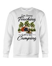 I'm Done Teaching Crewneck Sweatshirt tile