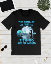 Fishing the drug of my choice Classic T-Shirt lifestyle-mens-crewneck-front-17