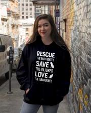 Rescue Hooded Sweatshirt lifestyle-unisex-hoodie-front-1
