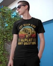 Fishing eat sleep fish Classic T-Shirt apparel-classic-tshirt-lifestyle-17