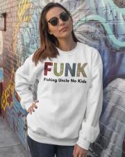 Fishing Uncle No kids Crewneck Sweatshirt lifestyle-unisex-sweatshirt-front-3