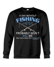 Fishing Day Fishing Crewneck Sweatshirt tile