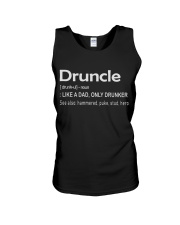 Druncle Like a Dad only Drunker Unisex Tank thumbnail