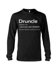Druncle Like a Dad only Drunker Long Sleeve Tee thumbnail