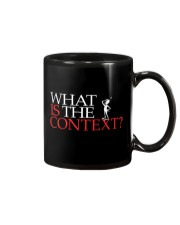 What Is The Context - Context Is Key Mug thumbnail