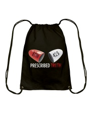 Prescribed Truth Classic with design on back Drawstring Bag thumbnail