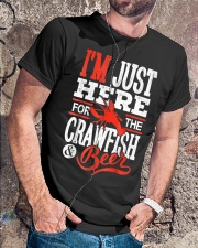 Just Here for Crawfish Beer Classic T-Shirt lifestyle-mens-crewneck-front-4