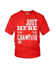 Just Here for Crawfish Beer Youth T-Shirt thumbnail