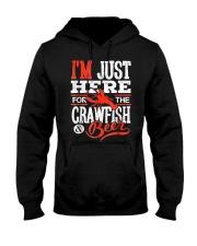 Just Here for Crawfish Beer Hooded Sweatshirt thumbnail