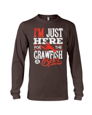 Just Here for Crawfish Beer Long Sleeve Tee thumbnail