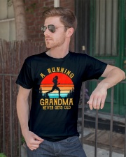 A Running Grandma Never Gets Old Tshirt  Classic T-Shirt lifestyle-mens-crewneck-front-2