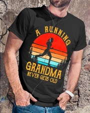 A Running Grandma Never Gets Old Tshirt  Classic T-Shirt lifestyle-mens-crewneck-front-4