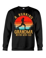 A Running Grandma Never Gets Old Tshirt  Crewneck Sweatshirt thumbnail