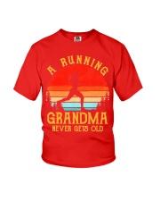 A Running Grandma Never Gets Old Tshirt  Youth T-Shirt thumbnail