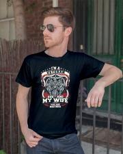 I'm A Veteran I Fear God  Classic T-Shirt lifestyle-mens-crewneck-front-2