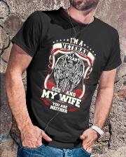 I'm A Veteran I Fear God  Classic T-Shirt lifestyle-mens-crewneck-front-4